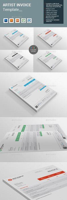 Invoice Template PSD  Download here  http   graphicriver net item     Invoice Template PSD  Download here  http   graphicriver net item invoice 15392924 ref ksioks    Proposal   Invoice Templates   Pinterest   Template