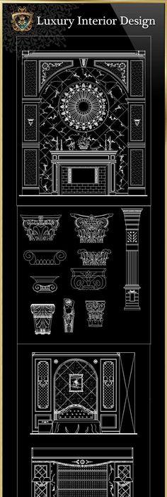☆【Interior Design 2D Blocks】-CAD Library Furniture blocks - new world map cad free