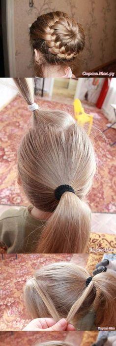 Learn How to Make a Cute Heart Braid Hairstyles
