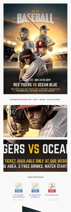 Baseball Game Flyer Template Baseball Games Flyer Template And