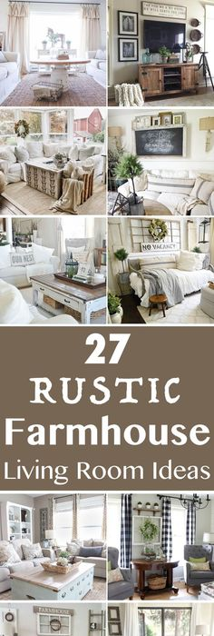 27 Comfy Farmhouse Living Room Designs To Steal: Wooooohoooo!!!! It Is DONE, People. And We Are Thrilled
