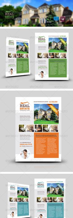 Real Estate Flyer  Real Estate Flyers Real Estate And