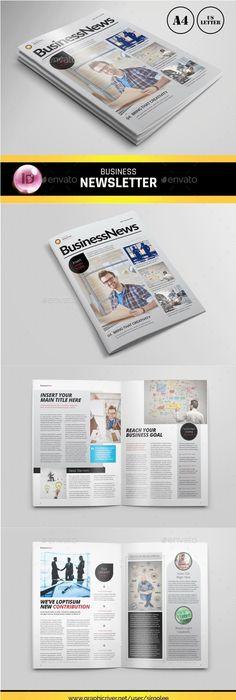 Elegant Spa Newsletter  Newsletter Templates Print Templates And