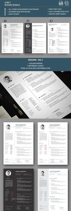 Resume Cv template, Template and Resume cv - different resume templates