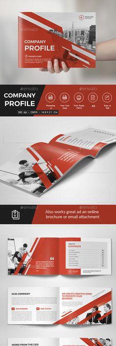 Landscape Brochure   Print Designs