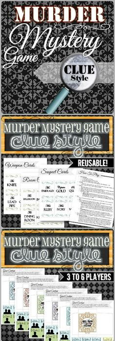 printable clue game cards - Google Search cluedo board Pinterest - best of blueprint detail crossword clue