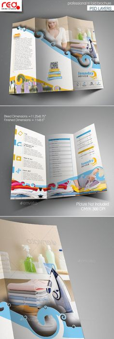 Laundry Services Flyer Template V02 Laundry Service Flyer