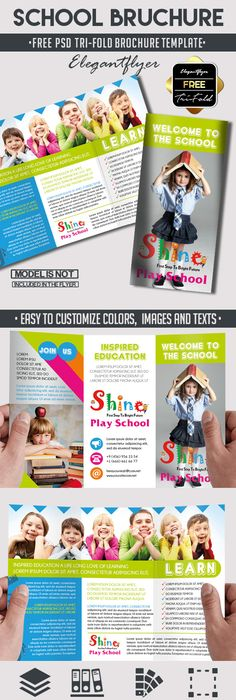 Child Education Center Tri Fold Brochure Template HttpWww