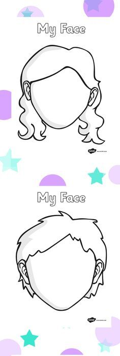 Blank Face Templates Pinmammamija 66 On Emocje  Pinterest  Kids Activity Sheets .
