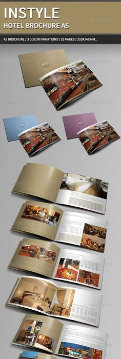 Hotel Brochure Templates  Hotel Brochure Brochure Template And
