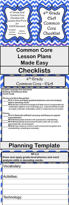 I Made This Whole Group Lesson Plan Template To Include The Common - Otes lesson plan template
