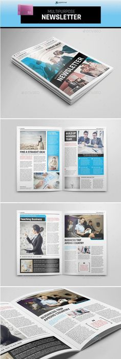 Business Newsletter  Newsletter Templates Template And Print