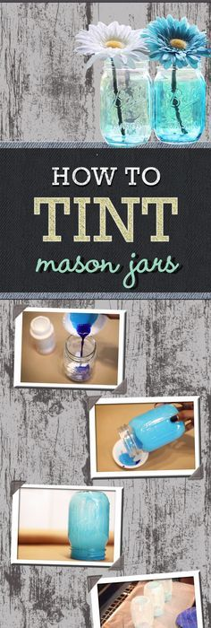 Fun diy craft ideas 52 pics fun diy crafts fun diy and craft easy diy ideas how to tint mason jars tutorial and fun craft ideas for do solutioingenieria Images