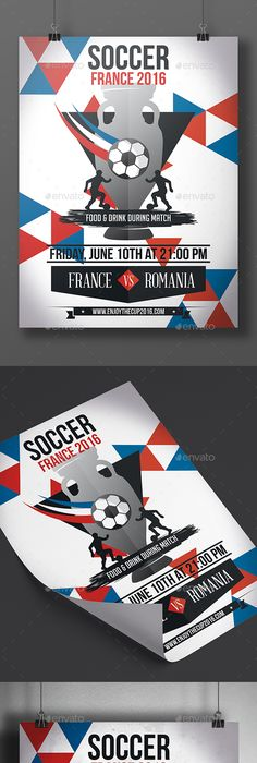 Soccer Tournament FlyerPoster  Flyer Template Template And Text