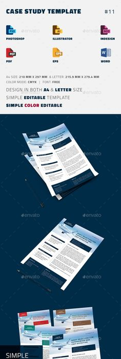 Case Study Template  Newsletter Design Templates Case Study
