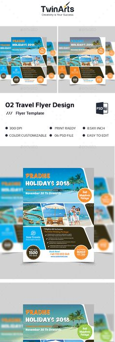 Around World Travel Flyers Flyer Printing Print Templates And
