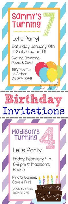 Free printable boys birthday party invitations boy birthday free printable birthday invitation templates kids birthday treatsboy filmwisefo Choice Image