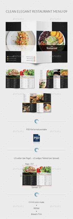 Modern Cafe Menu Designs Vector  Free Vector Graphic Resources