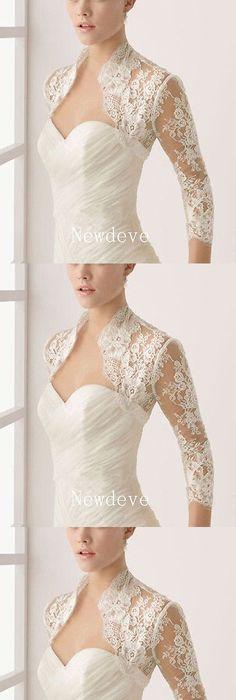 Wraps and Jackets 105472: Nwt Ivory Plus Size Bridal Cape Davids ...