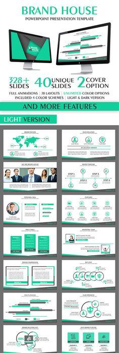 Standard Multipurpose Business Powerpoint Template Powerpoint