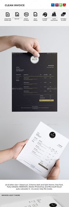 Creative Invoice Template Designs  Business Template And Graphics