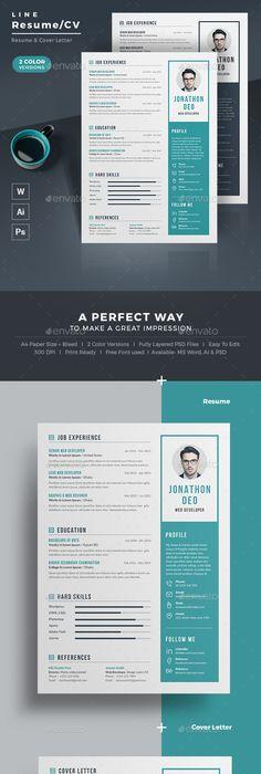 Free Creative Resume Template Psd Id  Free Stuff