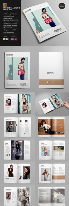 Indesign Magazine Template  Indesign Magazine Templates Template