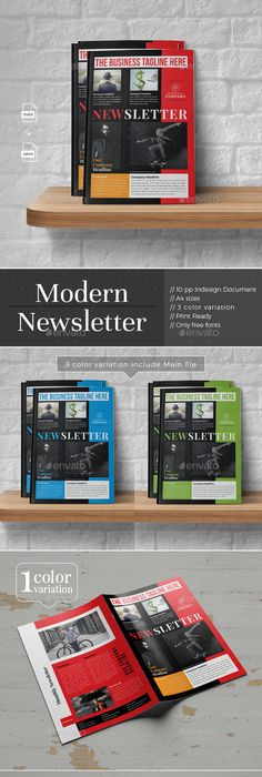 newsletter template indesign indd newsletter template pinterest