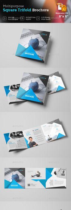 Corporate Tri Fold Brochure Template Brochure Template Tri Fold
