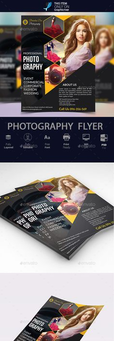 Computer services consulting brochure datasheet flyer ads fashion photography flyer vol 01 fandeluxe Choice Image