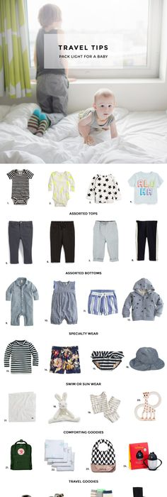 How To Pack Light For A Baby We Travel Often With Our Two Little Ones