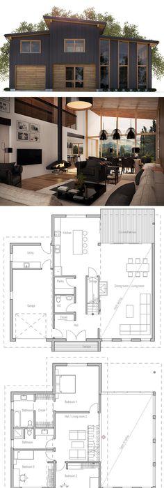 plan de petite maison Architecture Pinterest Architecture - plan de maison design