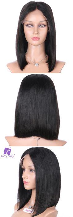 Black Women Short Hair Wigs