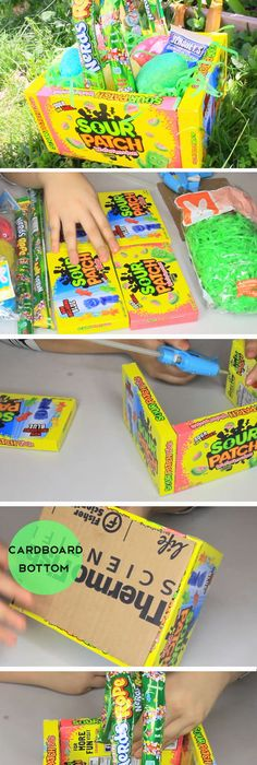 Diy candy easter basket an easy and creative way to make a fun 17 easy diy easter basket ideas for teens negle Gallery