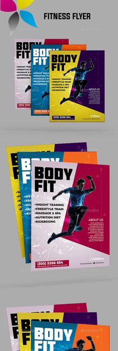 Fitness Or Gym Billboard Template  Ai Illustrator Billboard And Gym