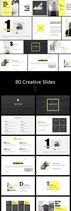 Creative - Keynote Presentation Template | Presentation templates ...