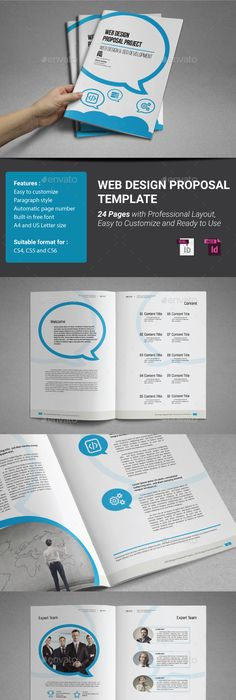 Website Proposal Template Psd Indesign And Ai Format