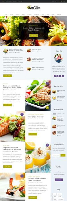 Recipe blog is a perfect responsive wordpress theme for food recipe blog is a perfect responsive wordpress theme for food recipe blog and magazines website download now httpsthemeforestitemcook r forumfinder Images