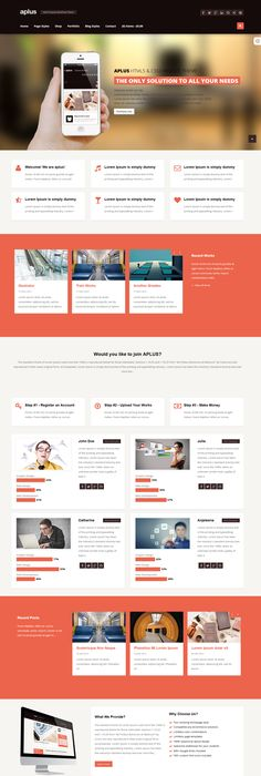 Get your site this very useful Responsive Business WordPress Theme ...