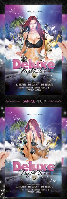 flyers for parties