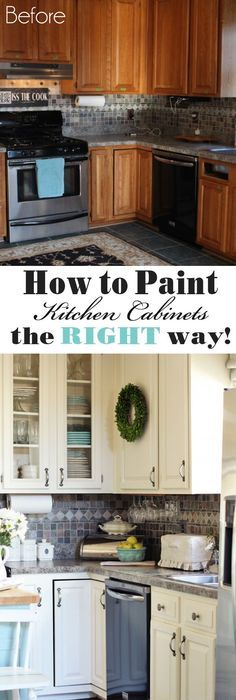 How To Paint Kitchen Cabinets (A Step By Step Guide)