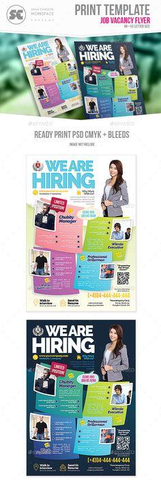 Jobs Career Fair Flyer Psd Jobs Career Flyer Pinterest Job