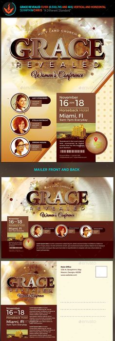 Free Christian Flyer Templates  Christian Flyer Design  Nd