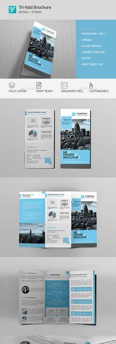 Corporate Bi Fold Brochure Template Psd Design Download Http