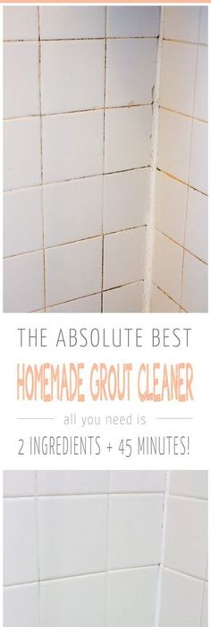 Marvelous How To Clean Grout With A Homemade Grout Cleaner