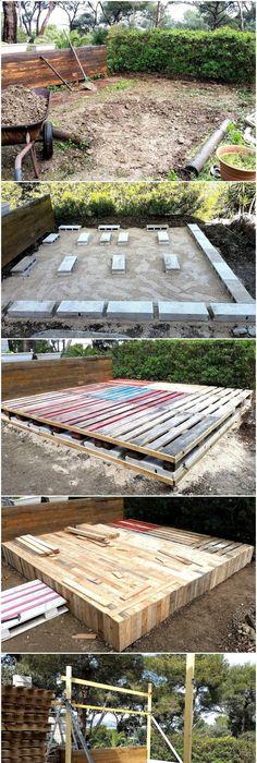 Palletenmöbel terrasse balkon sofa europaletten ideen bauen palleten möbel