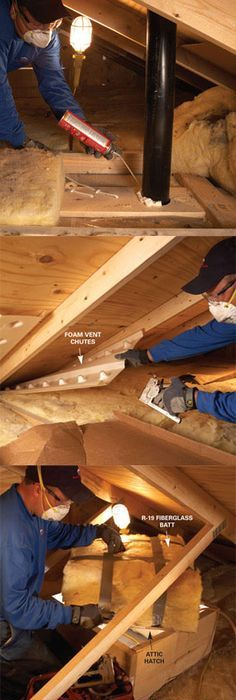 Read this before you finish your attic foam roofing roof saving energy blown in insulation in the attic solutioingenieria Image collections