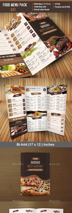 Multipurpose Restaurant Menu Template  Restaurant Menu Template