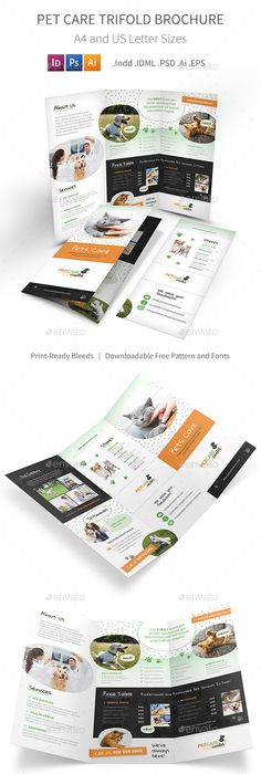 Vacation Tour Trifold Brochure Brochure Template Brochures And Ai