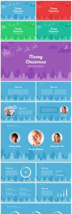 iDESIGN Free PowerPoint Template - 24 Unique Slides, 3 pre-made - winter powerpoint template